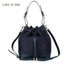 2016 women crossbody bag waterproof nylon women bag bucket bags handbags women famous brands bolsa feminina let it be brand