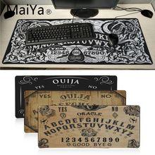 Maiyaca Ouija Board Rubber Mouse Durable Desktop Mousepad 700*300mm gaming mouse pad Speed Keyboard Mouse mat Laptop desk pad цены онлайн