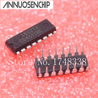 100pcs CD4511 CD4511BE 4511 CMOS BCD To 7 Segment Latch Decoder IC