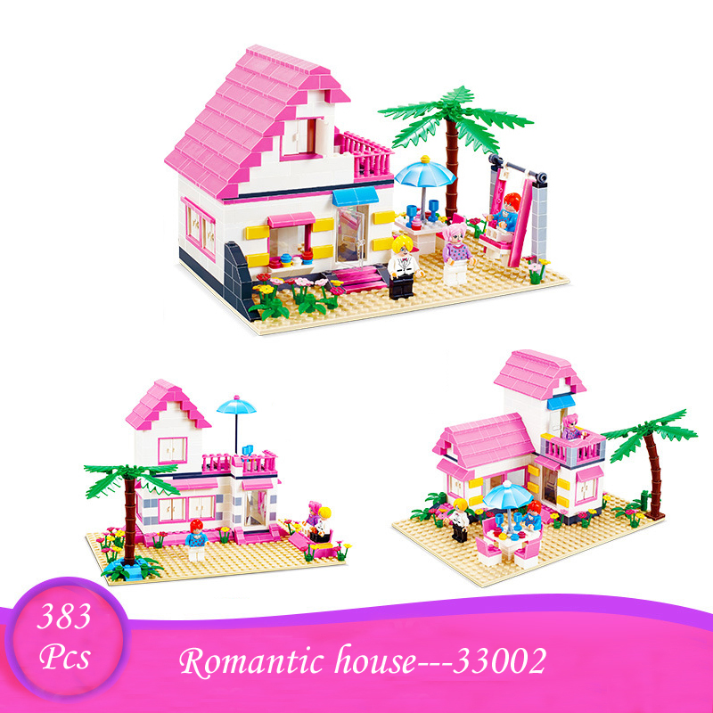 City Mini Street Bela Friends Windmill Jewelry Shop Romantic House Building Blocks Bricks Toys Compatible with