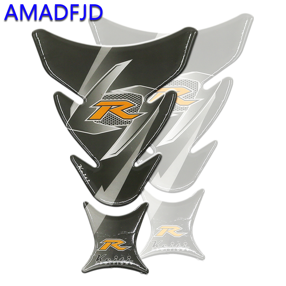 AMADFJD Motorcycle Tank Pad For Ducati For Honda CBR Sticker On Motorcycle Decal Gas Tankpad Protector Motorbike Decals Sticker
