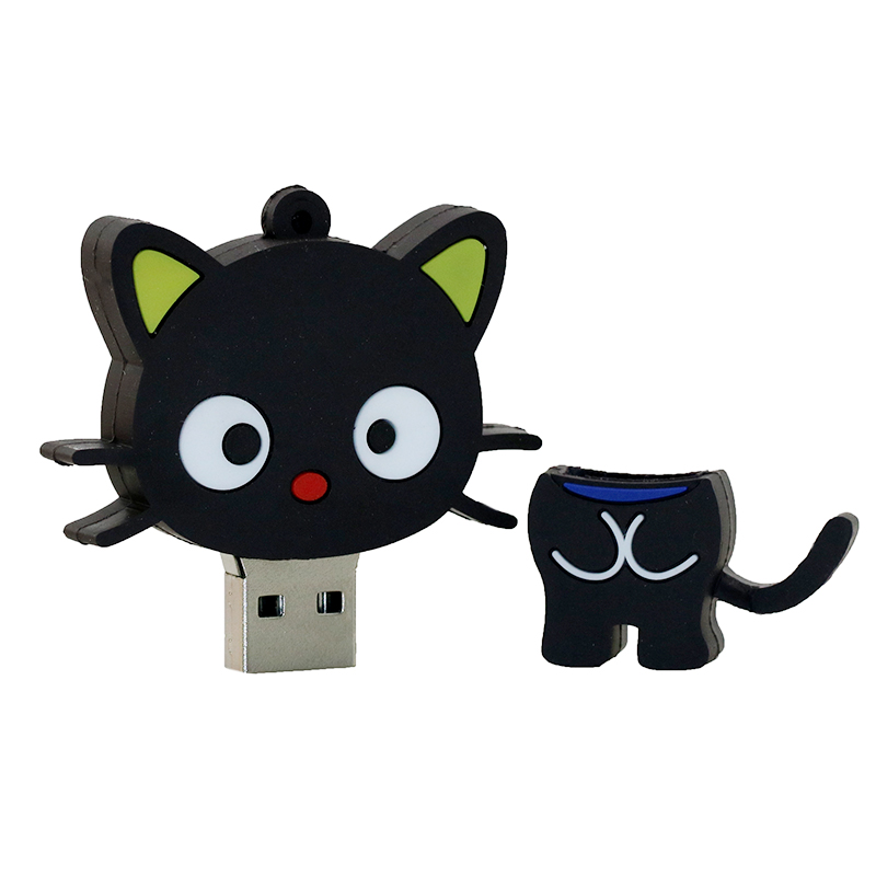 Leuke Cartoon Cat USB Flash Drive Memory Stick Pendrive USB Stick Pen - Externe opslag - Foto 4