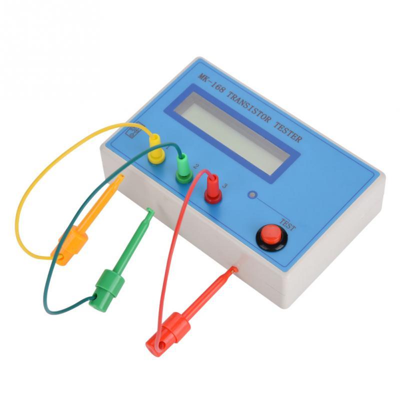 MK-168 Capacitance Meter Transistor Tester Diode Triode Capacitance Resistance ESR RLC NPN PNP MOS Meter Hot Sale mk 168 m328 transistor tester triode capacitance esr mos pnp npn resistance meter lcr mos pnp npn case