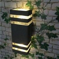 5 sztuk/partia 8 W New Arrival Ganek Światła Na Zewnątrz Ogród Światła LED Wodoodporna IP63, CE & ROHS, Wysokiej jakości Aluminium Kinkiet