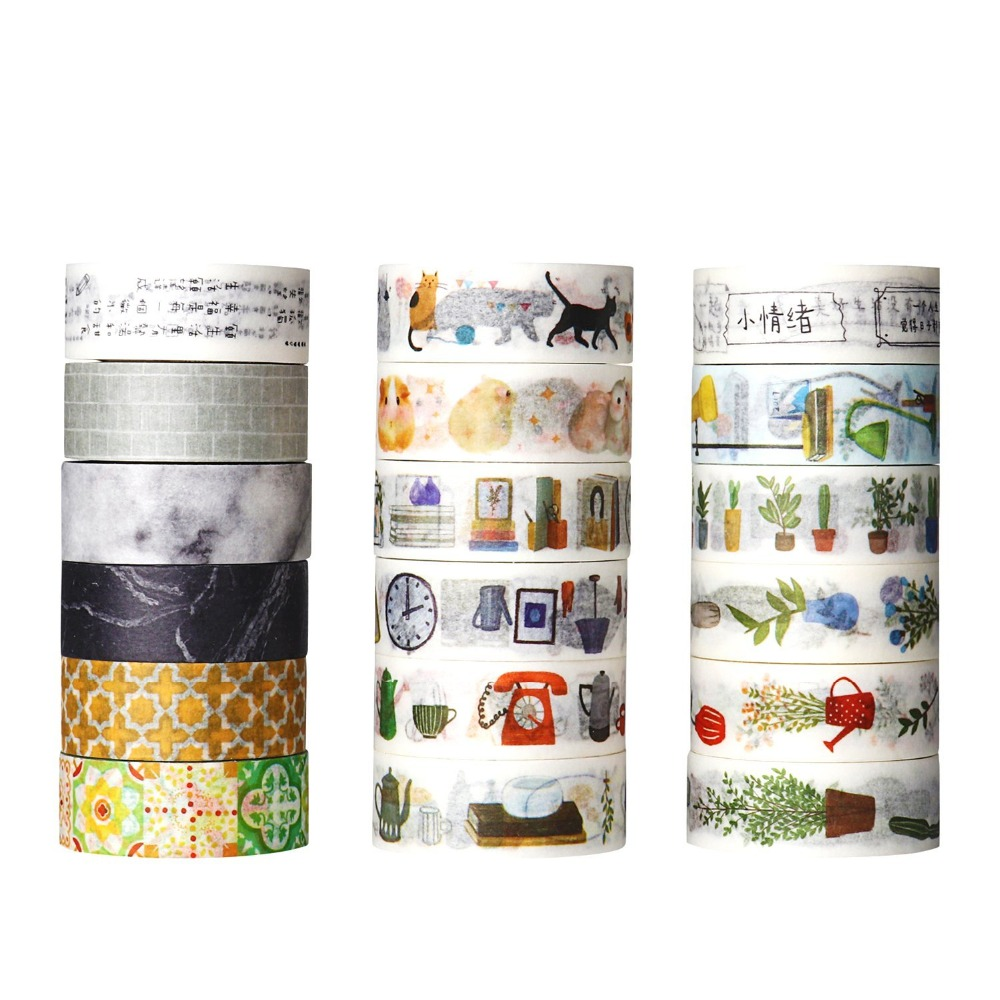 Fashionable Furnishings Theme Washi Tape DIY Scrapbooking Sticker Label Masking Tape School Office Supply