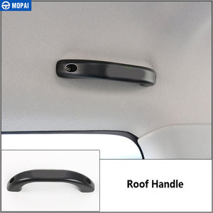 Image 3 - MOPAI Armrest for Suzuki Jimny 2010+ Car Top Roof Handle & Door Grab Handle Cover Accessories for Suzuki Jimny 2010+