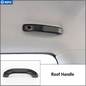 Image 3 - MOPAI reposabrazos para Suzuki Jimny 2010 +, manija de techo superior de coche y manija de agarre de puerta, accesorios para Suzuki Jimny 2010 +