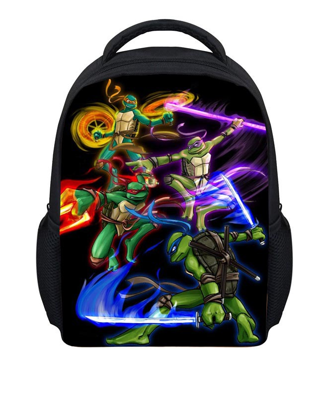 3D Cartoon Children School  Backpacks Teenage Mutant Ninja Turtle Backpack Fashion Robocar Poli Bagpack Kids Mochila Infantil рюкзак sprayground teenage mutant ninja grillz backpack b190b leonardo blue