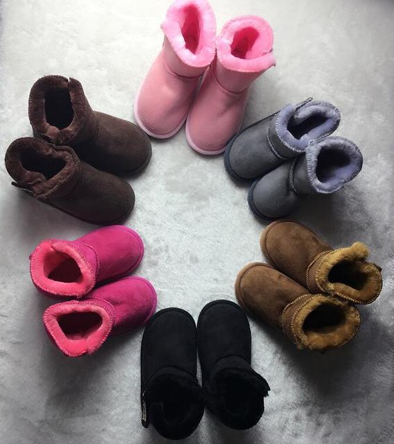 Bebé botas de nieve Para Niños Botas de Nieve hecho a mano Niño suela dura primeros caminante Del Bebé mocasines Zapatos de bebé de algodón para niños y niñas