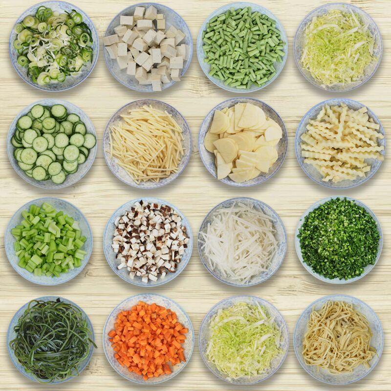 HTB1Shf5JxGYBuNjy0Fnq6x5lpXa3 - 600kg/h business use Best seller fruit and vegetable cutting machine multi-function potato cutter slicer
