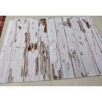 Rubber Floor Photo Background Floor Customize Printed Vintage Wood Newborn Backdrop Anti slip Rubber Backed Mat Anti Slip Carpet