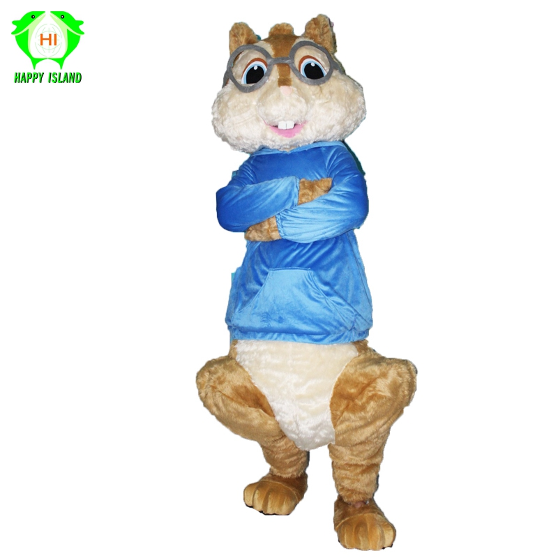 Cartoon Alvin And Chipmunks Halloween Cosplay Costumes For Adult Cartoon Mascot Costume Men Women Party Costume Mascot Costume Fancy Dressalvin And Chipmunk Aliexpress