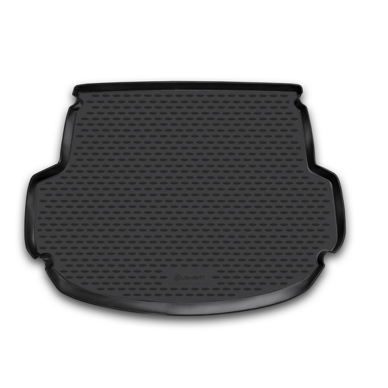 Mat rear trunk lid cover trim For HYUNDAI Santa Fe, 2012-> 5 seats, cross. (polyurethane)