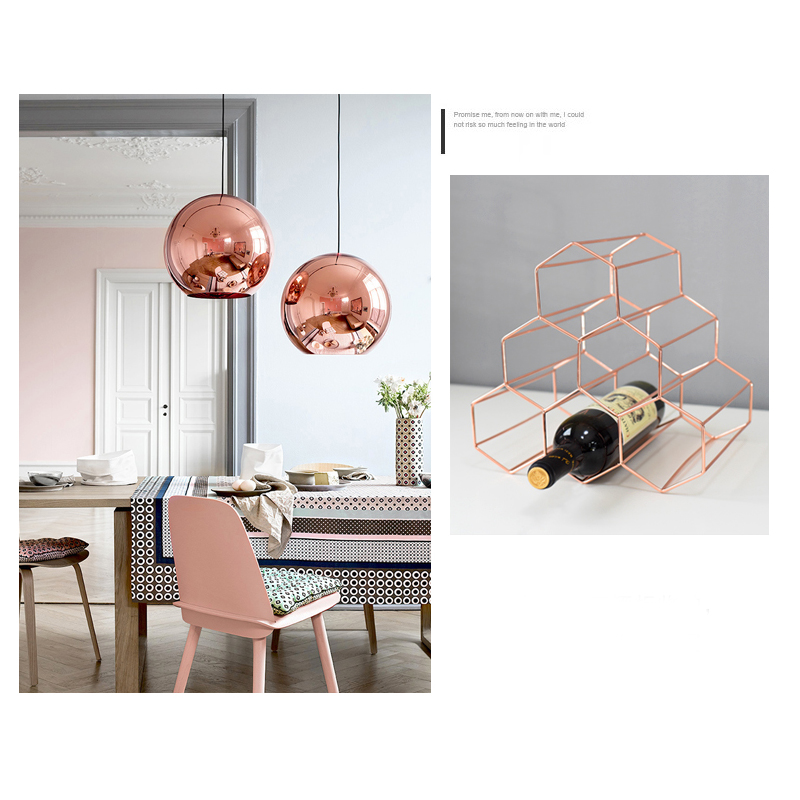 Nordic-Simple-Wine-Rack-Ornament-Creative-Honeycomb-Wine-Rack-Decor-Storage-Rack-Home-Decoration-Accessories-Display