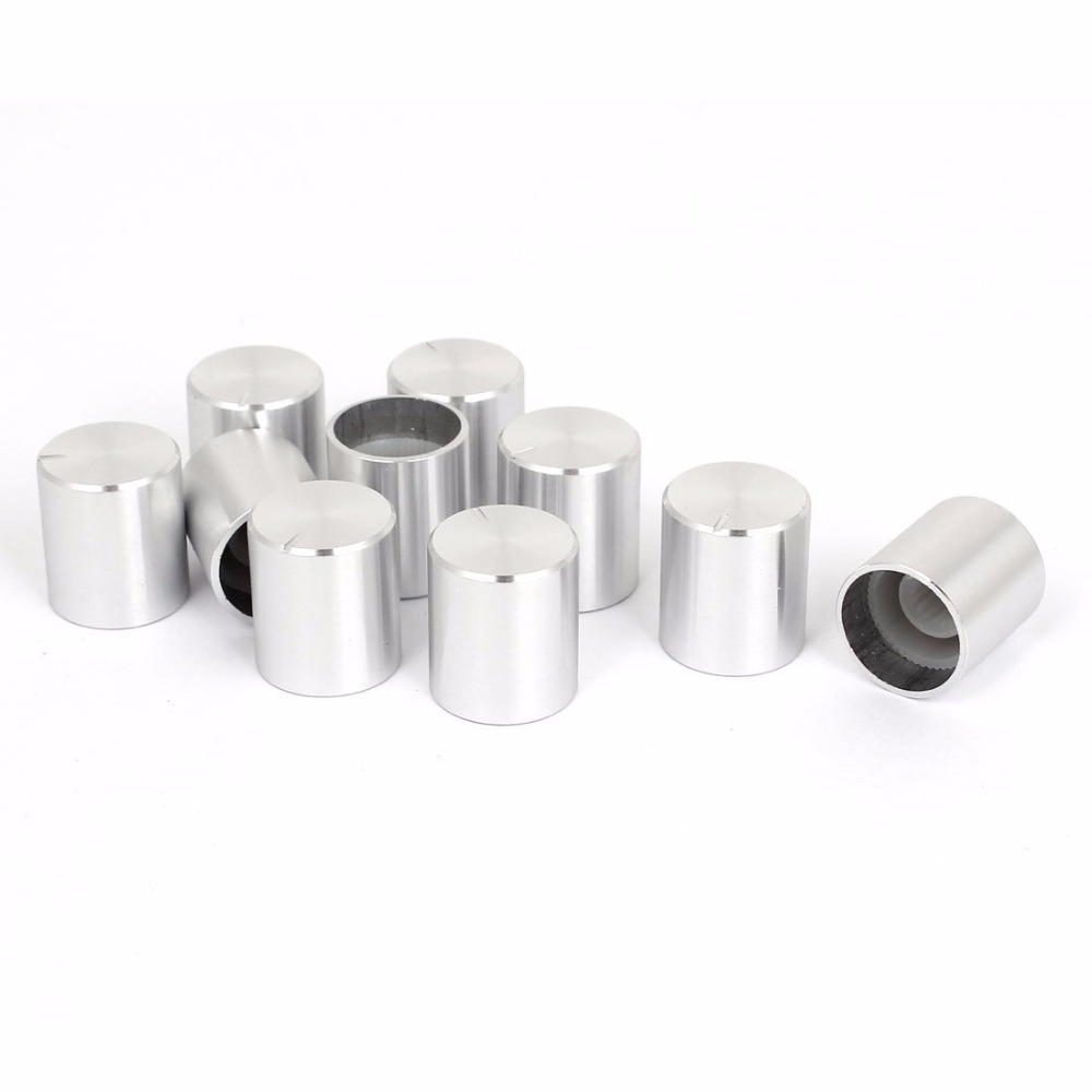 Mono Potentiometer Volume Tone Control Splined Linear B and Plastic Cup 24mm