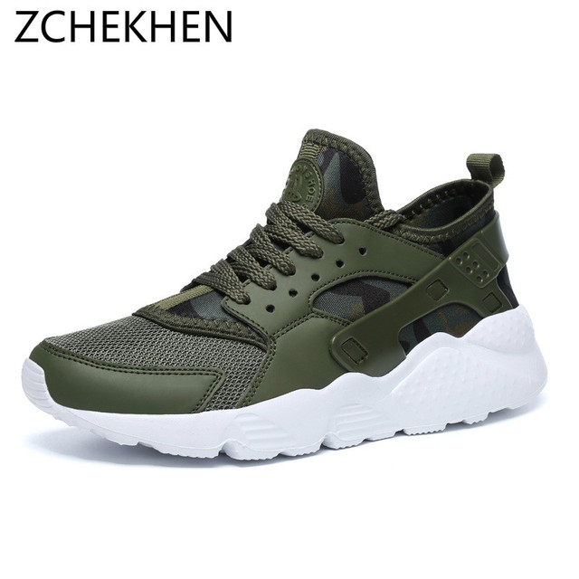 0a2eaab4c Men Sneakers Male Shoes Adult Red Black mesh Comfortable Non-slip Soft  light trainers Men