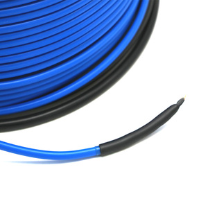 Image 5 - Twin Dirigent Onder Tegel Laminaat Vloerverwarming Systeem Vloerverwarming Kabel 20 W/m Snel Verwarming