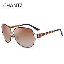 Модные поляризованные солнцезащитные очки женские брендовые дизайнерские Роскошные Металлические солнцезащитные очки женские для вождения Lunette De Soleil Femme 1713