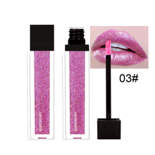 HANDAIYAN Shimmer Lip Gloss Glitter Lipstick Makeup Waterproof Soft Glossy Sparkly Pearl Liquid Lipgloss Woman Cosmetic