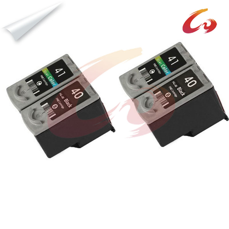 4 PG-40 CL-41 Compatible Ink Cartridge For canon pixma mp160 ink cartridge printer MP180 MP190 MP210 MP220 MP450 MP470 printer 3x remanufactured ink cartridge pg40 cl41 pg 40 cl 41 for canon pixma ip1700 ip1800 ip1900 mp470 mp450 inkjet printer