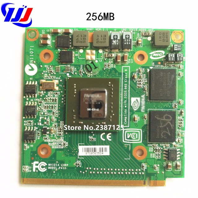 For A Cer A Spire7520G 7530G 7720G 7730G Series Laptop N Vidia GeForce 8400M 8400MGS MXM II DDR2 256MB VGA Graphics Video Card
