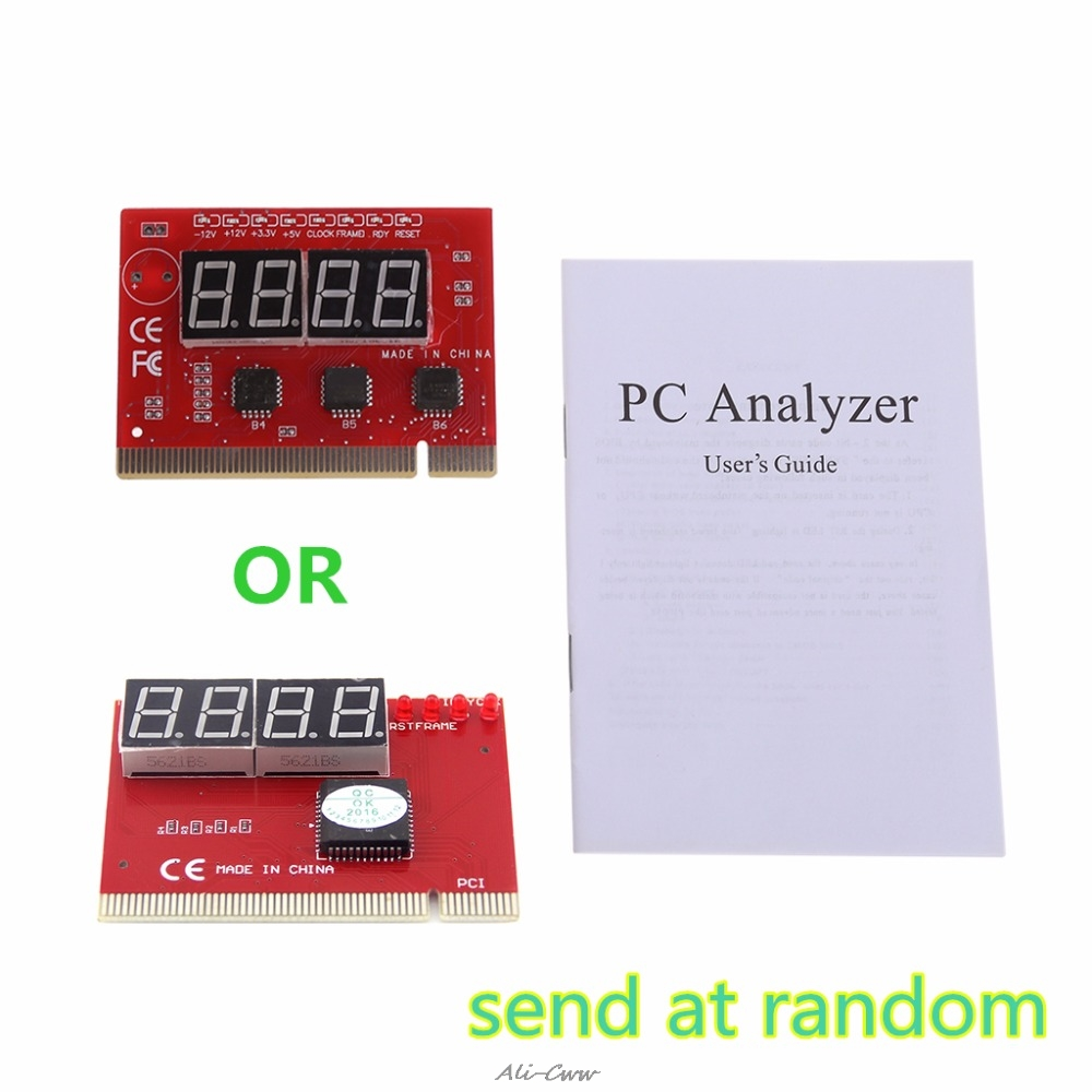 Analyzer Post-Card Network-Repair-Tool-Kit Computer Diagnostic Test-Pc New LED PCI 4-Digit title=