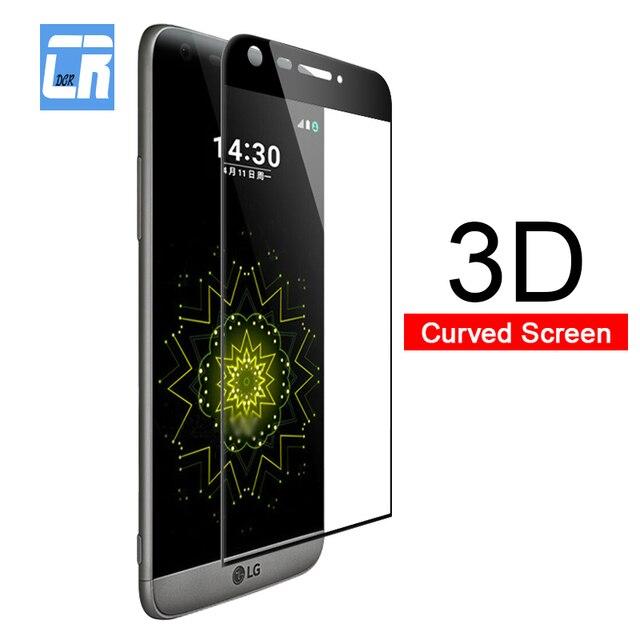 3D Full Curved Cover Tempered Glass for LG Velvet G5 G8 V35 V30 Plus Protector Screen Protective Film LG V40 V50 Toughened Glass