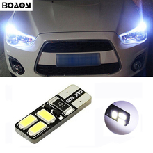 BOAOSI 1x T10 LED Auto Lamp Light bulbs with Projector Lens For Mitsubishi asx lancer 10 outlander 2013 pajero l200 Expo