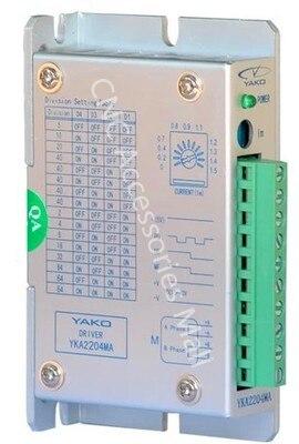 YAKO driver 2 phase step drive YKA2204MA/ YKB2204MA DC15-40V/DC6-30V 1.5A cnc router parts yako driver 2 phase step drive yka2404ma yka2404mb yka2404mc yka2404md cnc router parts