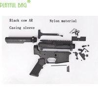 PB playful bag Outdoor activities CS black cow AR casing nylon Jinming upgrade water bullet gun accessories shooting games M31