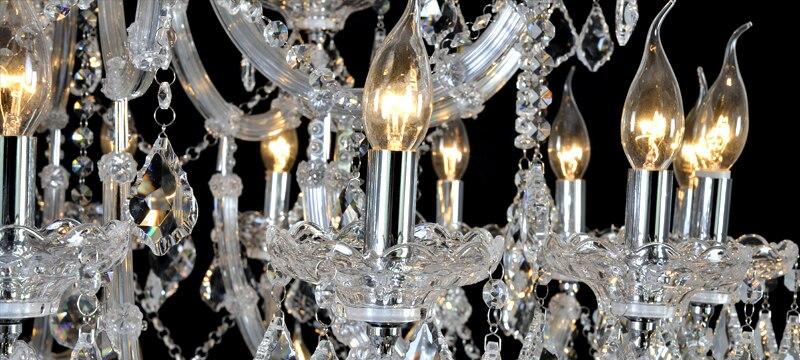 Lustre de candelabru de cristal mari de lux Maria Theresa Lumină de - Iluminatul interior - Fotografie 5