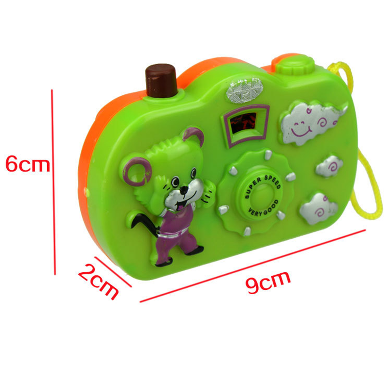 Kids Baby Toys Gift Projection Camera Educational Toys Animals World Random Color 8cm 5