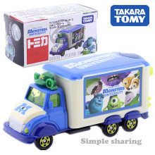 TAKARA TOMY Tomica Disney Pixar Motor Jolie Float Surrey Mike Truk Model Kit Diecast Hot Kids Mainan untuk Anak