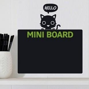 Small blackboard kitten blackboard stickers b decoration wall stickers eco-friendly