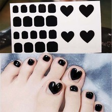 Fashion Toenails Stickers Mix Nail Design Adhesive Full Cover Summer Style New Accessories Art Manicure Decals D20