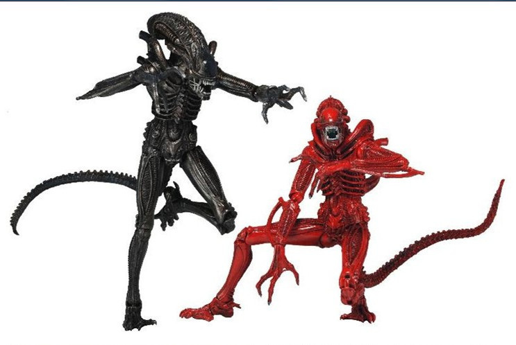 NECA 2-Pack Aliens Genocide Xenomorph Warrior Action Figure Set 7 фигурка planet of the apes action figure classic gorilla soldier 2 pack 18 см