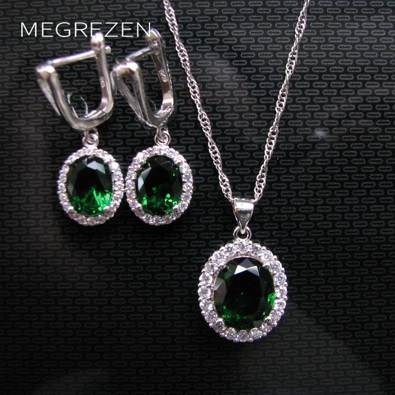 MEGREZEN Green Bridal...