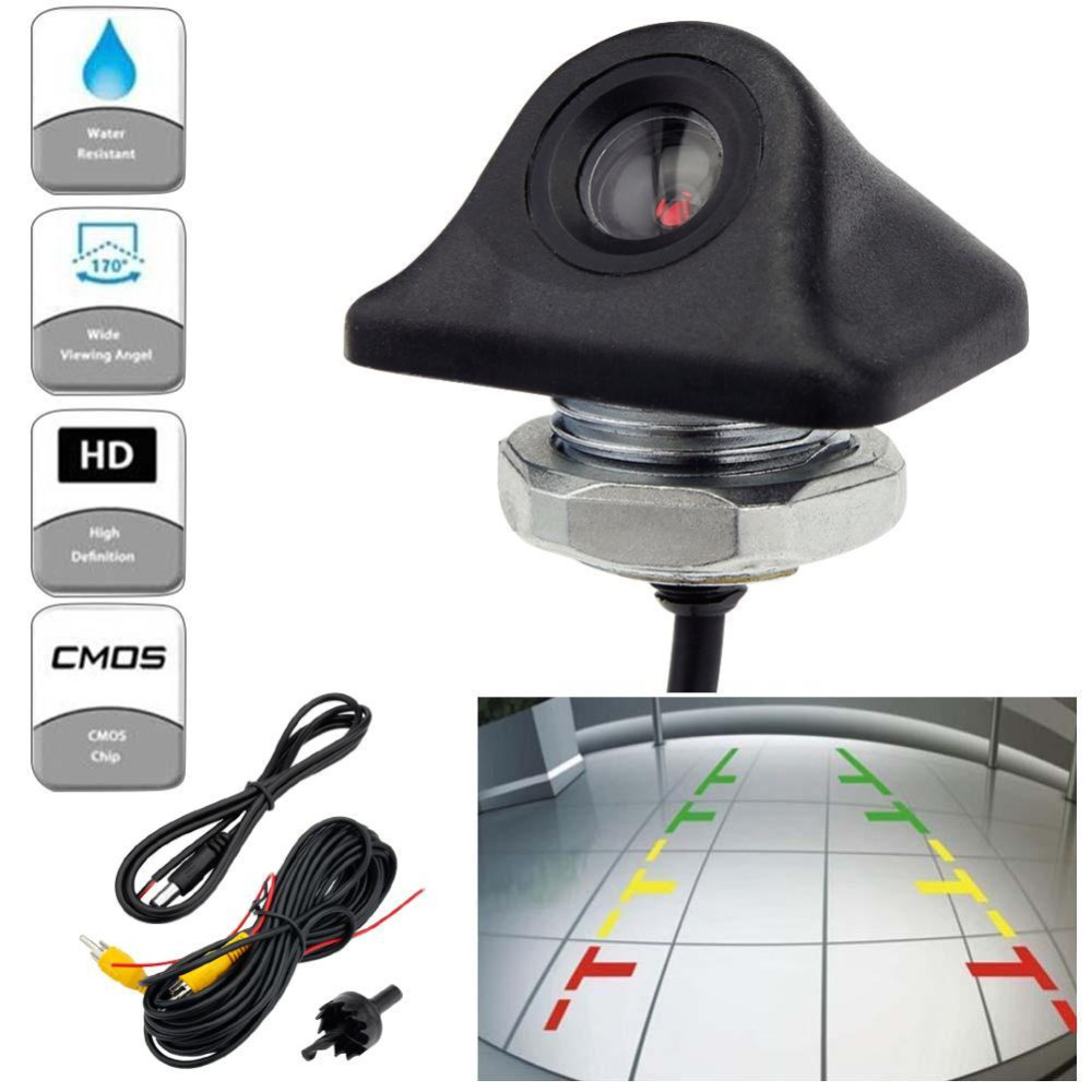 genuine universal auto car rear view camera parking reverse backup camera hd waterproof anti fog. Black Bedroom Furniture Sets. Home Design Ideas