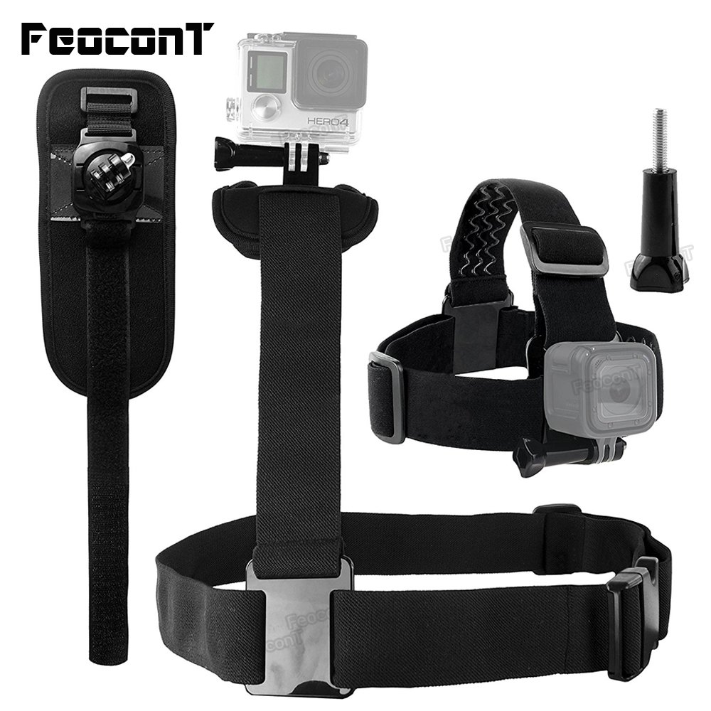 FeoconT Body Mount Bundel voor Gopro Hero 6 5 4 Black Session - Camera en foto