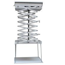 2 метра моторизованные электрический лифт ножницы потолочный кронштейн для крепления проектора лифт проектор пульт дистанционного управления