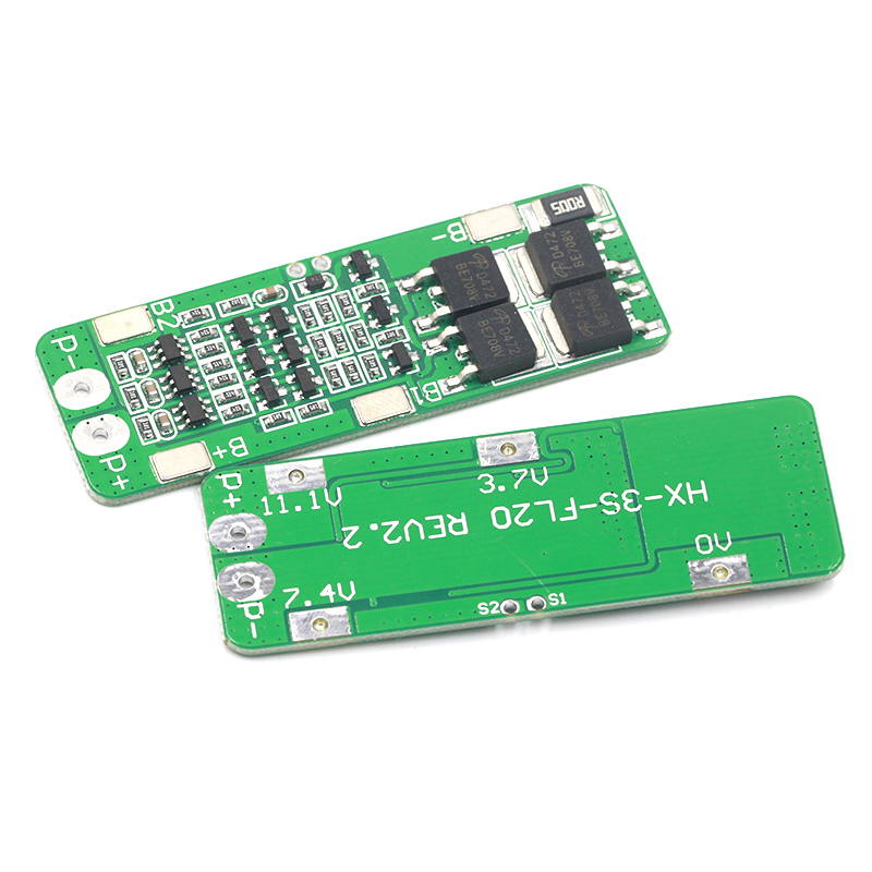 3S 20A Li-ion Lithium Battery 18650 Charger Protection Board PCB BMS 12.6V Cell Charging Protecting Module