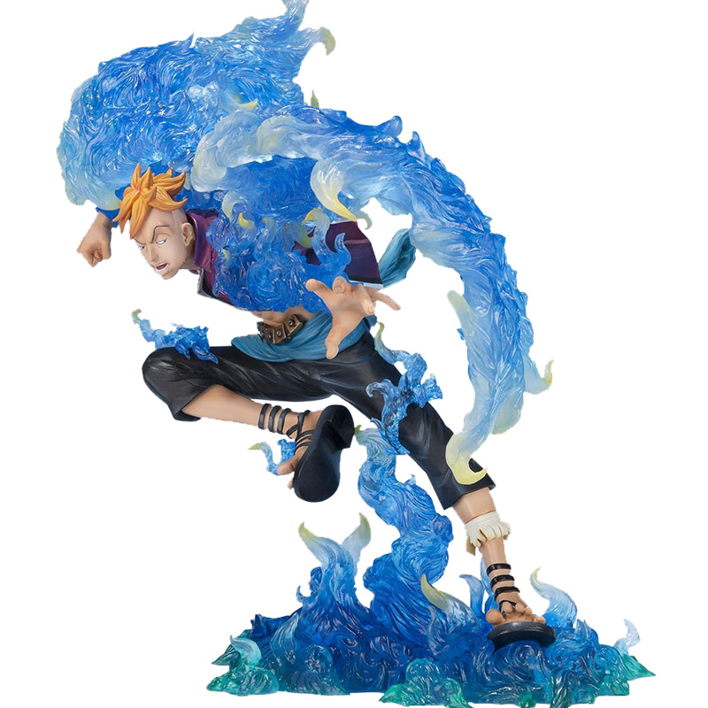 18CM Japanese anime figure one piece Marco action figure collectible model toys for boys 25cm pvc japanese anime figure one piece sanji action figure collectible model toys for boys