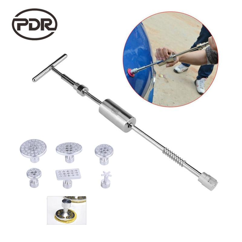 PDR Oбратный Mолоток Alisador de Mossas Ferramenta de Reparação Auto Dent Extrator Removedor de Dente Carro удаление вмятин