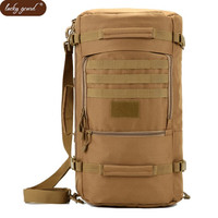 Men Bags Military Bag Backpack Waterproof Nylon Multi Function Casual Best Aircraft Backpack Bags Camouflage Free