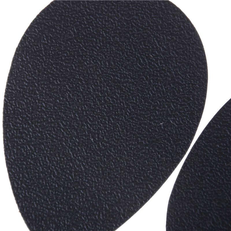 2 uds. Autoadhesivo estera de zapatos de tacón alto Protector de goma almohadillas antideslizantes plantilla con puntera pegatina de tacones altos