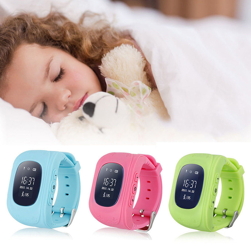 Cute Q50 Smart watch Children Kid Wristwatch GSM GPRS GPS Locator Tracker Anti-Lost SOS Child Guard Kid Safe for iOS Android