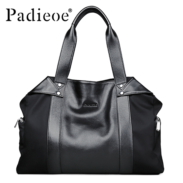f6e5116b86f8 Padieoe New Arrival Luxury Unisex Handbags Women Bags Designer Women s Genuine  Leather Messenger Bag Fashion Briefcases For men