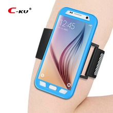Sports Arm Band + Case for SAMSUNG S7 Running Phone Cover Re