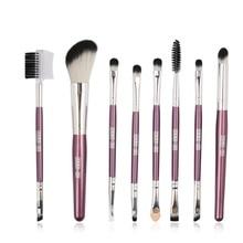 2019 8pcs/1 Set Makeup Brushes Lip Contour Eyeshadow Concealer Blush Powder Brush Eyebrow Eyelash Comb Cosmetic Tools
