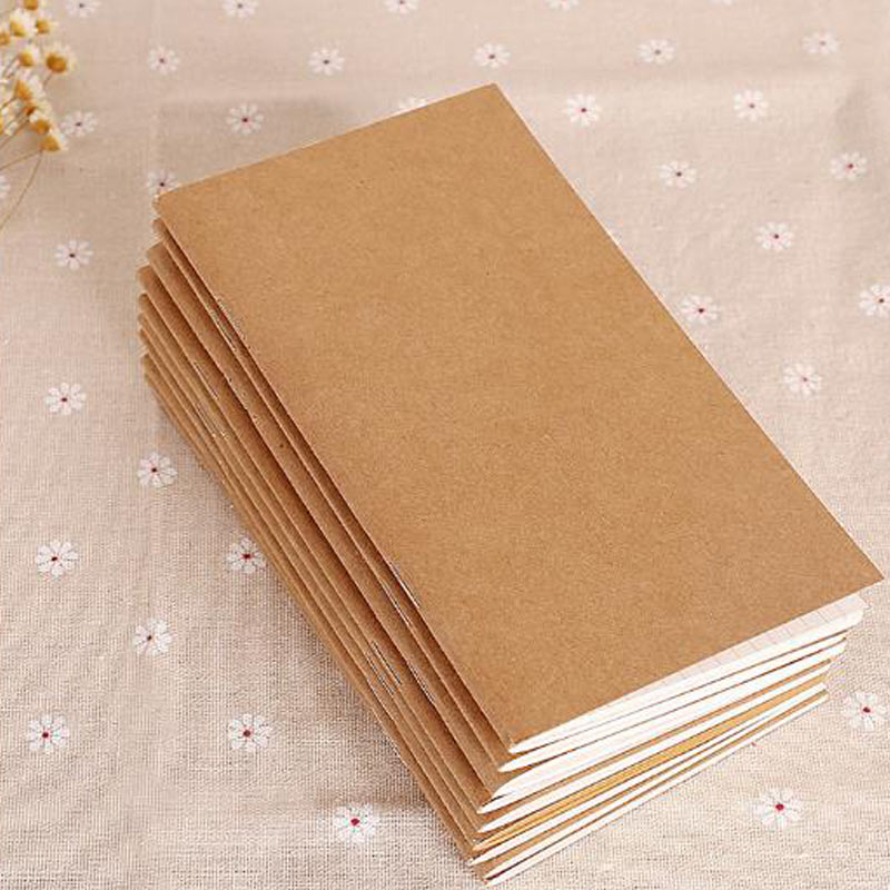Yiwi Leather Notebook Refill Replace Inner Core Sketchbook Planners Four Special Size Travel Diary Journal Refills Insert